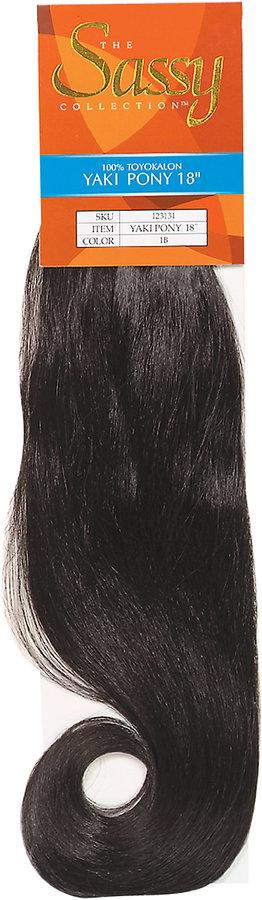 The Sassy Collection Yaki Pony Braid 18""