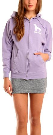 Dane Hoody in Purple