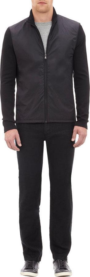 Michael Kors Thermal Knit and Microfiber Jacket