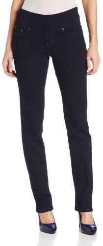 Jag Jeans Women's Peri Pull-On Straight Leg, After Midnight, 2