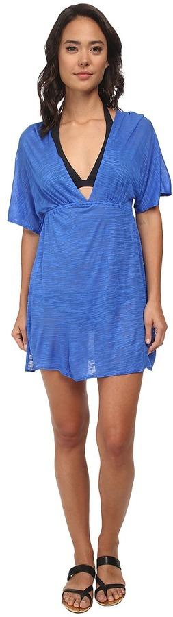 Vitamin A Swimwear New Paradise Plunge Tunic Cover-Up