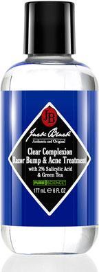 Jack Black Clear Complexion Razor Bump & Acne Treatment, 6 oz.