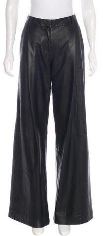 Diane von Furstenberg Stanton Leather Pants w/ Tags