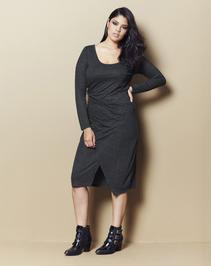 Neppy Wrap Dress