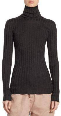 Brunello Cucinelli Cashmere & Silk Turtleneck Top
