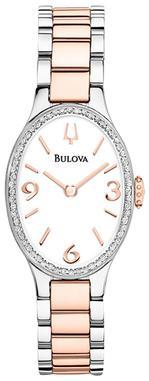 Analog Two-Tone Bracelet Watch