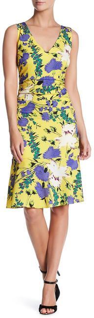 Tracy Reese Flounced Print Dress