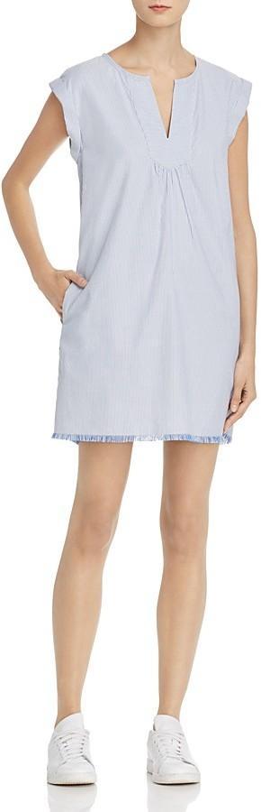 Soft Joie Blayne B Frayed Pinstriped Dress