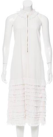 Easton Pearson Pleated Cinder Dress