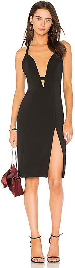 NBD Offense Dress in Black