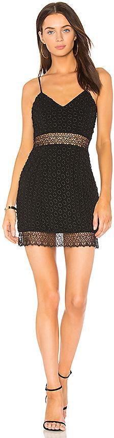 NBD Brielle Mini Dress in Black