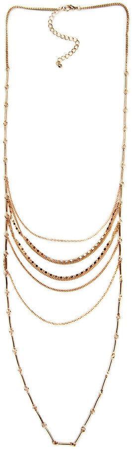 ARIZONA Arizona Womens 34 Inch Link Necklace