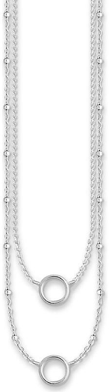 Thomas Sabo Charm Club double-layer sterling silver necklace