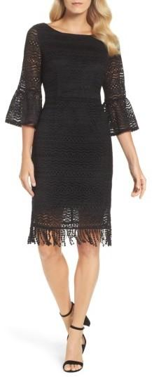 Women's Adrianna Papell Julia Lace Sheath Dress