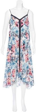 Elizabeth and James Silk Printed Dress