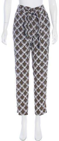 A.L.C. High-Rise Silk Pants