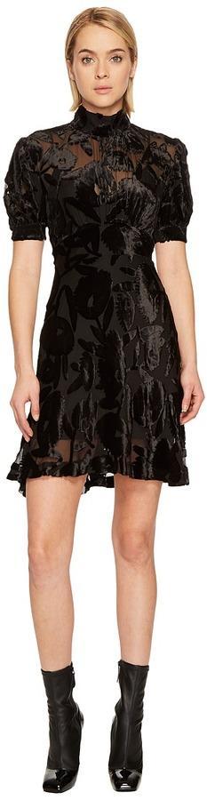 McQ - Short Gather Sleeve Dress Women's Dress