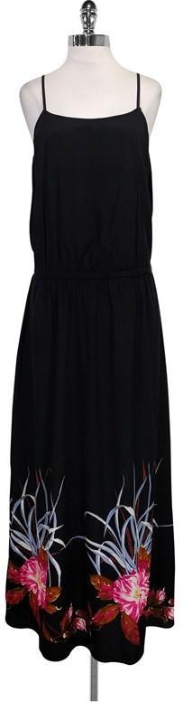 DKNY Black Maxi Dress