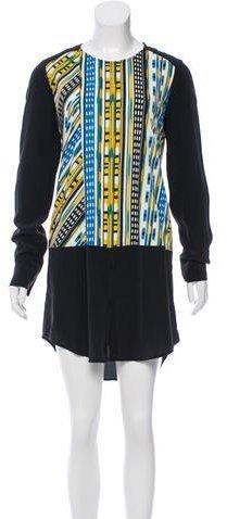 Thakoon Addition Silk Printed Dress