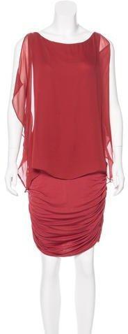 Bailey 44 Silk Jersey Midi Dress