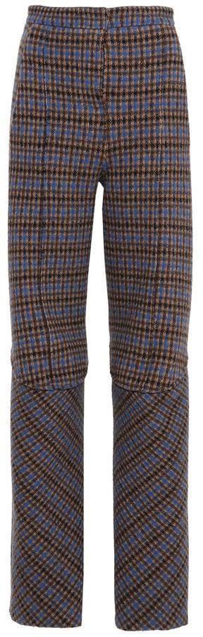 Stella McCartney check tailored pants