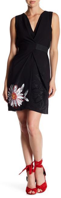 Desigual Tarragona V-Neck Dress