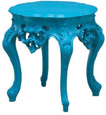 Versailles Side Table Blue Trendylog