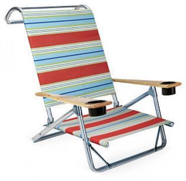 Mini Sun Chaise Atlantic Blue Stripe Trendylog