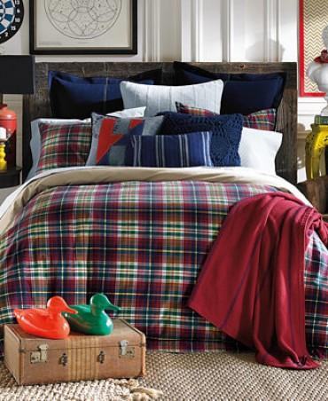 Tommy Hilfiger Middlebury Plaid Full Queen Comforter Set Trendylog