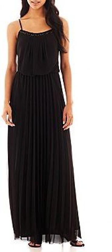 Bisou bisou sleeveless cinched waist dress trendylog for Cinched waist wedding dress