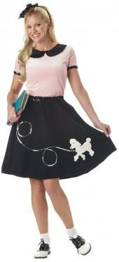 '50s Poodle Skirt - Adult