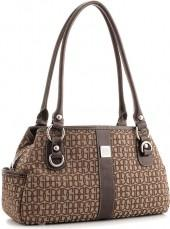 Giani Bernini Handbag, Annabelle Signature Swagger Satchel
