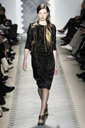 3.1 Phillip Lim Gold Leather Runway Jacket