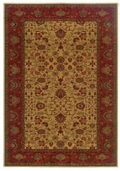 "Couristan Area Rugs, Everest Tabriz Gold 2' 7"" x 7' 10"""