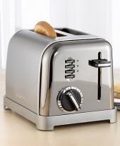 Cuisinart CPT-160BCH Toaster, 2-Slice Black Chrome