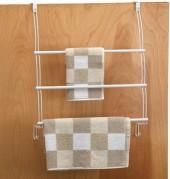 Better Bath® White Over-the-Door Towel Organizer
