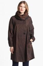 Mycra Pac Designer Wear Reversible Leopard Coat