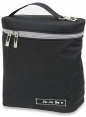 Black/Silver Fuel Cell Lunch Bag by Ju-Ju-Be®