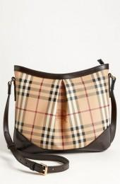 Burberry 'Haymarket Check' Crossbody Bag, Small