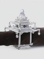 L'Objet Set of 2 Pagoda Napkin Rings