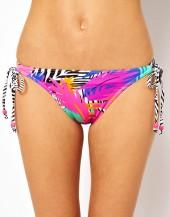 Freya Flash Dance Print Rio Tie Side Bikini Bottom