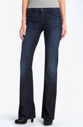 7 For All Mankind® Mid Rise Bootcut Stretch Jeans (Los Angeles Dark)