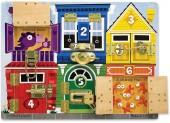 Melissa and Doug Melissa & Doug Latches Board