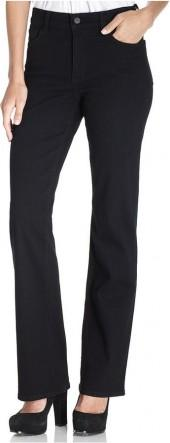 NYDJ Bootcut Jeans, Sarah Stretch Black Wash