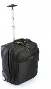 A.saks luggage, 17-in. expandable carry-on