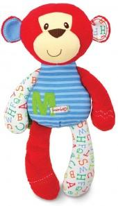 "Kids preferred smarty kids ""m is for monkey"" plush toy"