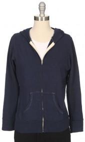 MONROW Vintage Inspired Zip-Hoodie
