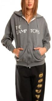 Blue&Cream Lamptons Hoody in Charcoal