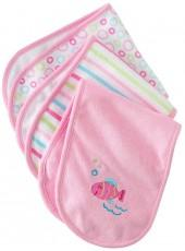 Just born 3-pk. fish burp cloths