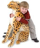 Melissa & Doug® Plush Stuffed Animal Cheetah